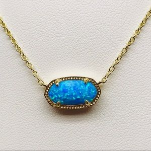 Kendra Scott Elisa ocean Kyocera opal G Necklace